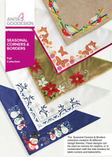 Seasonal Corners & Borders Anita Goodesign Embroidery Design Machine CD