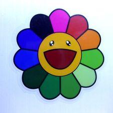 Sun Flower Cartoon Cute Kids Transparent Sticker Decal Vinyl Car Guitar Suitcase