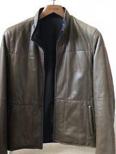 ermenegildo zegna Leather Jacket Size 48 f4e300225f3