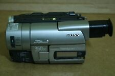 SONY CCD-TRV66 Hi8 XR / 8mm Handycam CAMCORDER 0-LUX NIGHT-SHOT ZooM LCD Vision