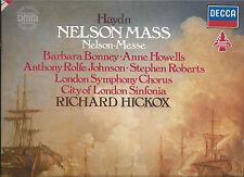 LP: Haydn Nelson Mass,, Richard Hickox, City of London sinfonia, London Symphony