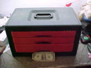 USA Made Craftsman Tool Box Loaded with Tools Sockets & Wrenches