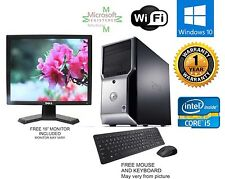 Dell Precision T1500 Computer i5 650 3.20ghz 16gb 1TB Windows 10 hp 64 FX 580