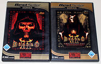 DIABLO II & EXPANSION SET LORD OF DESTRUCTION - GOLD EDITION PC MAC DVD HÜLLE 2