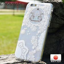 MADE IN JAPAN Soft Clear TPU iPhone 6 & iPhone 6s Case w/snow flake design