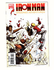 Iron Man: Armored Adventures #1 (2009, Marvel) VF/NM HTF Skottie Young Variant
