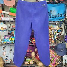 Vintage Patagonia Fleece Pants Synchilla Deep Pile Purple Made In Usa Large