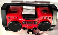 NICE Sony ZS-H10CP Heavy Duty Aux-MP3-CD-Radio Mega Bass Audio System -TESTED