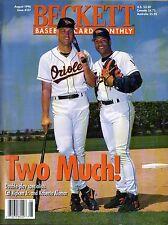 AUGUST 1996 BECKETT BASEBALL CARD MONTHLY- CAL RIPKEN JR. & ROBERTO ALOMAR