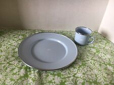 Baby Boy Prince Metal Plate And Cup Set