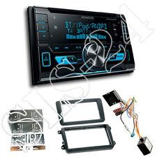 VW Golf Doppel-DIN Blende+CAN-Bus Radioadapter+Kenwood DPX5000BT Bluetooth Tuner