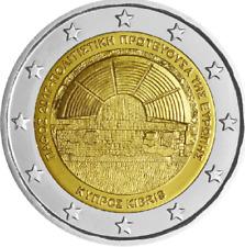 2 euro commemorativa 2017 Paphos FDC Cipro