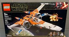 Lego Star Wars: Poe Dameron's X-wing Fighter # 75273 (761 Pieces) New/Sealed