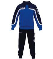 Giosal Completo Tuta Sportiva GIVOVA Uomo Donna Unisex New Visa Relax Sport Allenamento Running Rosso//Bianco-XXXL
