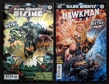 Dark Knights Rising Wild Hunt #1 Foil & Hawkman Found Jim Lee Variant DC 2018