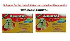 asuntol dog soap two pack anti flea and tick bolfo