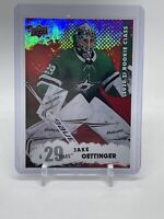 Jake Oettinger NHL Upper Deck  2020-21 Rookie Class Series 2 #RC-2RED PARALLEL