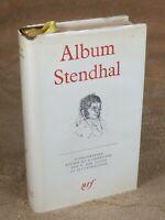 LA PLEIADE : ALBUM STENDHAL  / 1966
