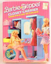 Barbie And Skipper Closet Carrier New In Original Box Dress Up Wardrobe Case