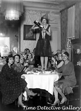 Women at New Year's Eve Party - Vintage Photo Print