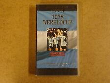 VHS VIDEO CASSETTE VOETBAL / OFFICIELE FILM FIFA 1978 WERELDCUP ARGENTINA