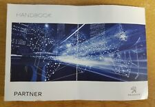 PEUGEOT PARTNER OWNERS MANUAL HANDBOOK WALLET 2014-2017 PACK G-64