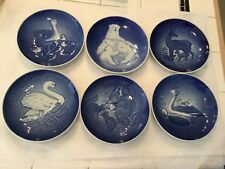 Vintage Lot of 6 Bing & Grondahl B & G Mother's day plates 1973-78