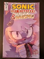 ⭐️ SONIC The HEDGEHOG: Tangle & Whisper #2a (SEGA) (2019 IDW Comics) VF/NM Book