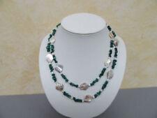Natürliche Perlmutt Modeschmuck-Halsketten