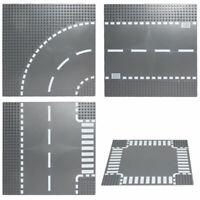 City Road Street Placa base Recto cruce en curva Curva en T para todos