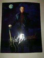Authentic Neil Diamond In The Round Tour Programme and 4 x Suite Tickets Rare