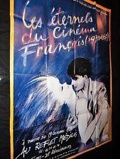 LES ETERNELS DU CINEMA FRANCAIS !    affiche cinema document  festival 1988