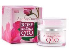 Rose of Bulgaria Q10 + Rose Water 50 ml.Anti- Age cream.Amazing effect!!!