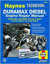 2001-2012 CHEVROLET DURAMAX DIESEL ENGINE REPAIR SERIVE MANUAL HAYNES # 10331