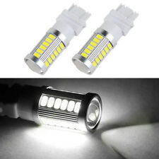 2x 3157 3057A 4057 33SMD Backup Reverse Led Light 7000k Aluminum For Chevrolet