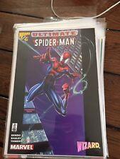 Marvel Comics Wizard Ultimate Spiderman 0.5 NM