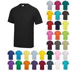 AWDis Cool Dry Plain T-Shirt Mens Running Sports Breathable Short Sleeve Tee Top
