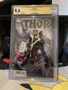 Marvel's Thor #1 Olivier Coipel Cover Signed by Donny Cates CGC 9.6