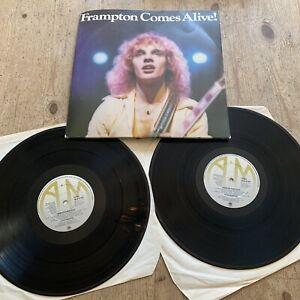 """Frampton Comes Alive 1976 12"""" Vinyl DOUBLE LP Album  G/Fold A&M AMLM63703"""