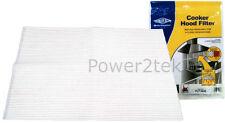 Calor Extractora Filtro De Grasa De Ventilación Extractor indicador de saturación de 114 X 47cm