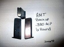 1 AMT BACKUP MAG MAGAZINE .380 ACP 6 ROUND (INV#58)