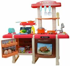 Large Realistic Kids Kitchen Set - with Lights and Sounds