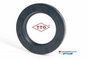 TTO Oil Seal 10x15x3mm Nitrile Rubber Single Lip R21 Springless Multi Pack