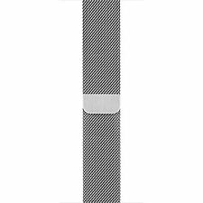 Genuine Apple Milanese Loop for Apple Watch 38mm MJ5E2ZM/A Stainless Steel -N.O.