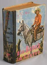 Noleggia libro Western-AX AREX-ranch nel Canyon-Wild West-UOMINI DURI