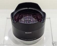 100% New Unused Sony 21mm Ultra Wide Angle Converter Lens FE 28mm F2 SEL075UWC