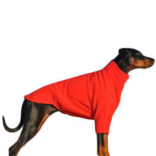 HOTTERdog Dog Jumper Red Small Fleece by Equafleece Water Repellent Washable