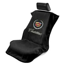 1- Seat Armour Seat Protector Cover with Old Cadillac Crest Logo