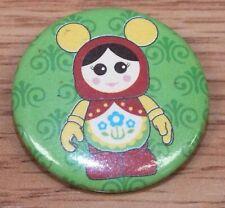 Walt Disney Vinylmation Girl Mickey Mouse Mystery Button / Pin *READ*