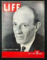 LIFE MAGAZINE  July 1939 - WWII LORD HALLIFAX / Wizard of Oz / Telephone Company